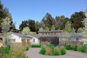 Modern Style House Plan - 4 Beds 4 Baths 3595 Sq/Ft Plan #484-9