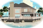 Traditional Style House Plan - 3 Beds 2.5 Baths 2827 Sq/Ft Plan #81-13759
