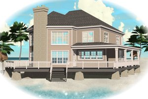 Traditional Exterior - Front Elevation Plan #81-13759