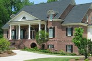 Classical Style House Plan - 4 Beds 3.5 Baths 5298 Sq/Ft Plan #1054-81 Exterior - Front Elevation