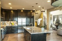 Home Plan - Kitchen - 4000 square foot Craftsman home