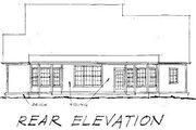 Farmhouse Style House Plan - 4 Beds 2.5 Baths 2384 Sq/Ft Plan #20-192 Exterior - Rear Elevation