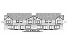 House Plan Design - Traditional Exterior - Rear Elevation Plan #20-2382