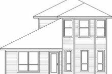 Traditional Exterior - Rear Elevation Plan #84-109