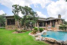 Dream House Plan - Prairie Exterior - Covered Porch Plan #80-211