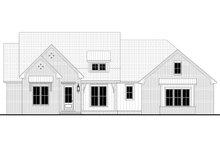 House Plan Design - Farmhouse Exterior - Front Elevation Plan #430-220