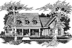 Traditional Exterior - Front Elevation Plan #329-288