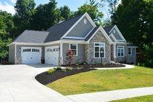 Dream House Plan - European Exterior - Front Elevation Plan #20-2128