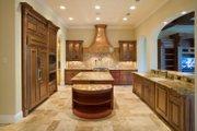 Mediterranean Style House Plan - 4 Beds 3.5 Baths 4923 Sq/Ft Plan #135-166 Interior - Kitchen