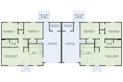 Traditional Style House Plan - 2 Beds 1 Baths 852 Sq/Ft Plan #17-2406 Floor Plan - Main Floor Plan