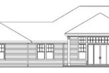 Home Plan - Ranch Exterior - Rear Elevation Plan #124-752