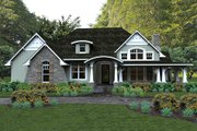 Craftsman Style House Plan - 3 Beds 3 Baths 2267 Sq/Ft Plan #120-181 Exterior - Front Elevation