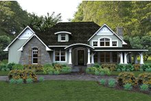 House Design - Craftsman style home, elevation