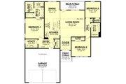 Farmhouse Style House Plan - 3 Beds 2 Baths 1493 Sq/Ft Plan #430-253