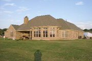 Country Style House Plan - 4 Beds 2.5 Baths 2414 Sq/Ft Plan #63-267 Exterior - Rear Elevation