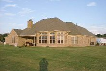 House Design - Country Exterior - Rear Elevation Plan #63-267