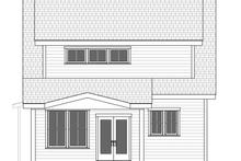 Architectural House Design - Craftsman Exterior - Rear Elevation Plan #461-75