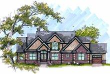 Home Plan - Bungalow Exterior - Front Elevation Plan #70-996