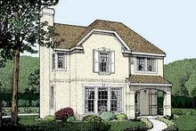 Traditional Exterior - Front Elevation Plan #410-323
