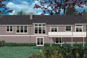 Craftsman Style House Plan - 3 Beds 2.5 Baths 3246 Sq/Ft Plan #48-169 Exterior - Rear Elevation