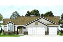 Traditional Exterior - Front Elevation Plan #58-173