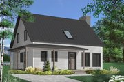 Country Style House Plan - 3 Beds 1.5 Baths 1772 Sq/Ft Plan #23-2669 Exterior - Front Elevation
