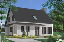 Home Plan - Country Exterior - Front Elevation Plan #23-2669