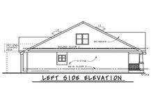 House Blueprint - Craftsman Exterior - Other Elevation Plan #20-2415
