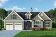 Dream House Plan - Traditional Exterior - Front Elevation Plan #929-363