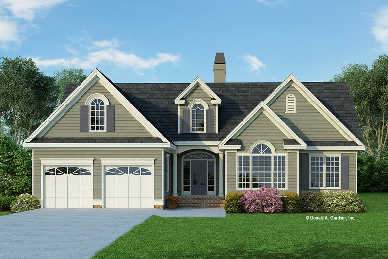 House Plan Design - Traditional Exterior - Front Elevation Plan #929-363