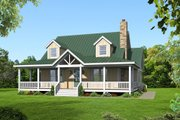 Country Style House Plan - 3 Beds 3.5 Baths 1990 Sq/Ft Plan #932-13