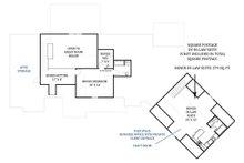 Craftsman Floor Plan - Upper Floor Plan Plan #119-367