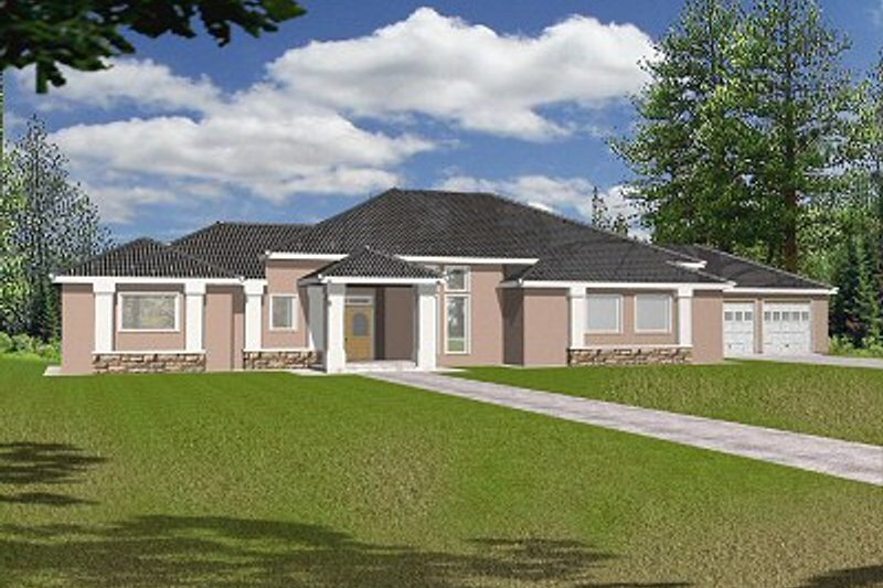 Home Plan - Traditional Exterior - Front Elevation Plan #117-149