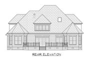 Traditional Style House Plan - 3 Beds 3.5 Baths 3063 Sq/Ft Plan #1054-79 Exterior - Rear Elevation