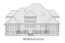 Dream House Plan - Traditional Exterior - Rear Elevation Plan #1054-79