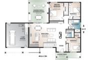 Ranch Style House Plan - 3 Beds 1 Baths 1604 Sq/Ft Plan #23-2649 Floor Plan - Main Floor Plan