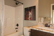 Mediterranean Style House Plan - 3 Beds 2 Baths 1720 Sq/Ft Plan #20-2174 Interior - Bathroom