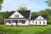 Country Style House Plan - 3 Beds 2 Baths 2200 Sq/Ft Plan #932-276 Exterior - Front Elevation