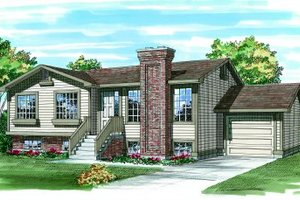Traditional Exterior - Front Elevation Plan #47-227