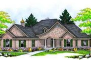 European Style House Plan - 3 Beds 2 Baths 2239 Sq/Ft Plan #70-657 Exterior - Front Elevation