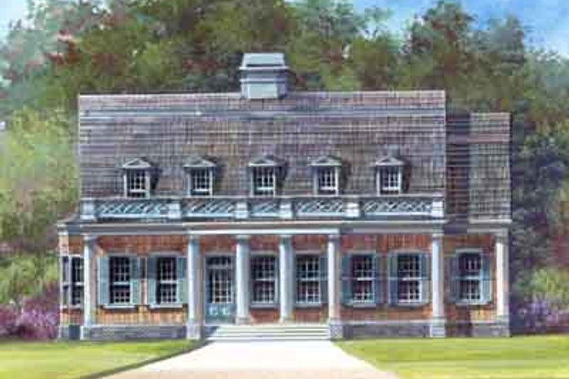 Dream House Plan - Classical Photo Plan #119-155