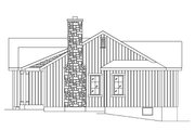 Cottage Style House Plan - 2 Beds 2 Baths 1185 Sq/Ft Plan #22-574 Exterior - Other Elevation