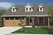 Craftsman Style House Plan - 3 Beds 2 Baths 1366 Sq/Ft Plan #84-263 Exterior - Front Elevation