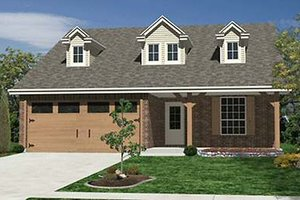 Craftsman Exterior - Front Elevation Plan #84-263