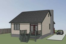 House Plan Design - Farmhouse Exterior - Other Elevation Plan #79-159