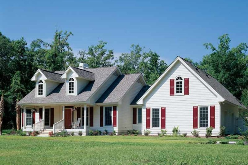 Dream House Plan - Country Exterior - Front Elevation Plan #929-191