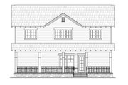 Craftsman Style House Plan - 4 Beds 2.5 Baths 2300 Sq/Ft Plan #21-265 Exterior - Rear Elevation