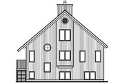 Modern Style House Plan - 3 Beds 2 Baths 1873 Sq/Ft Plan #23-2023 Exterior - Rear Elevation