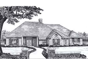Traditional Exterior - Front Elevation Plan #310-930