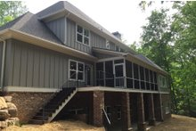 Craftsman Exterior - Rear Elevation Plan #437-64